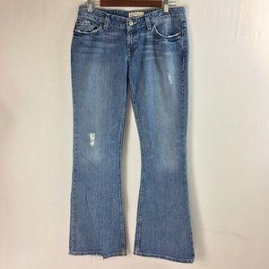 T148 BKE Starlite Boot Cut/Flare Jeans Size 30x31